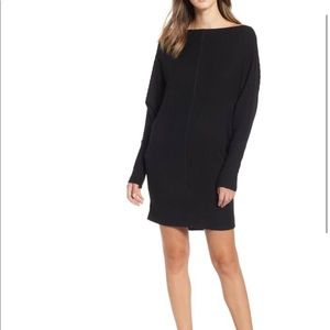 NWOT BP Rib Bateau Sweater Dress